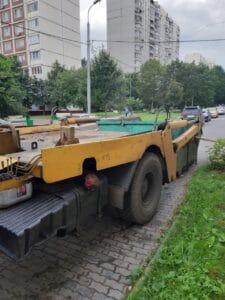 Вывоз мусора в Апрелевке дешево
