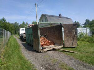 Вывоз мусора контейнером в Реутове