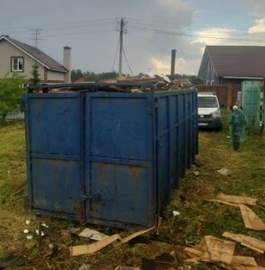 Заказать контейнер для вывоза мусора в Чехове