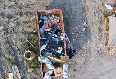 Вывоз мусора контейнером 8 м3 в Подольске