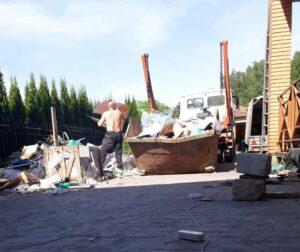 Вывоз мусора в Воскресенском районе