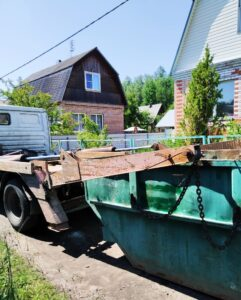 Вывоз мусора в Клину контейнером