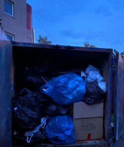 Вывоз мусора в Лобне контейнером