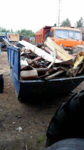 Вывоз мусора в Солнечногорске контейнером